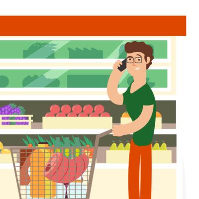 відкрити супермаркет